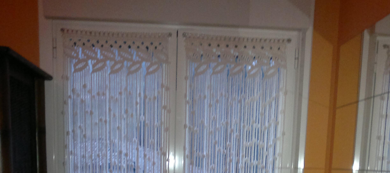 Visillos telas lisas para cortinas visillos visillos for Cortinas de living