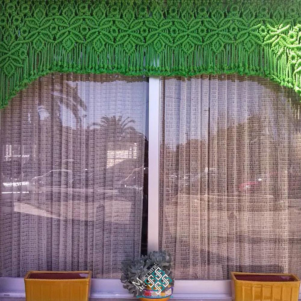 Coritna macrame modelo reina verde corta