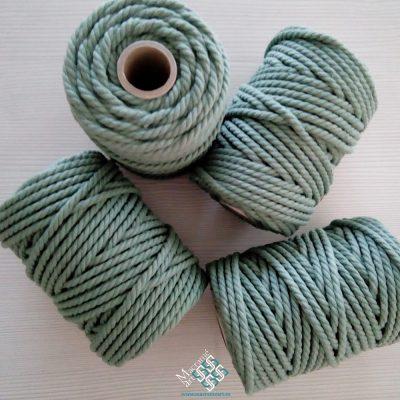 Cuerda macramé color aguacate