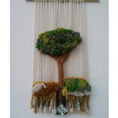 tapiz de árbol sin telar